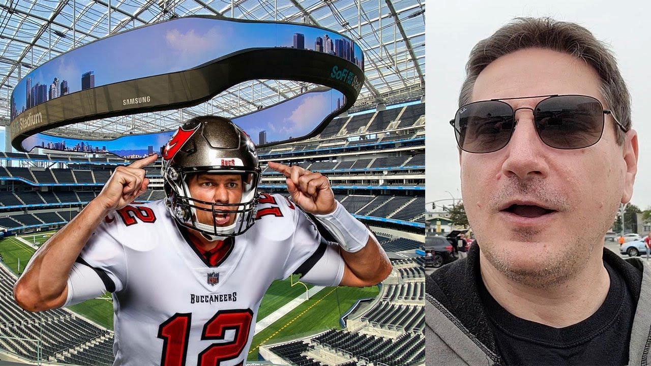 John And Ann Visit SoFi Stadium And See Tom Brady Play