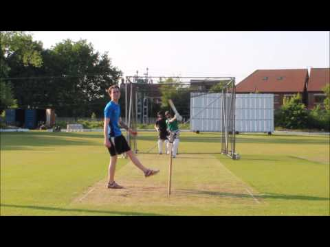 2017 UK Cricket nets RAW gear test on the square