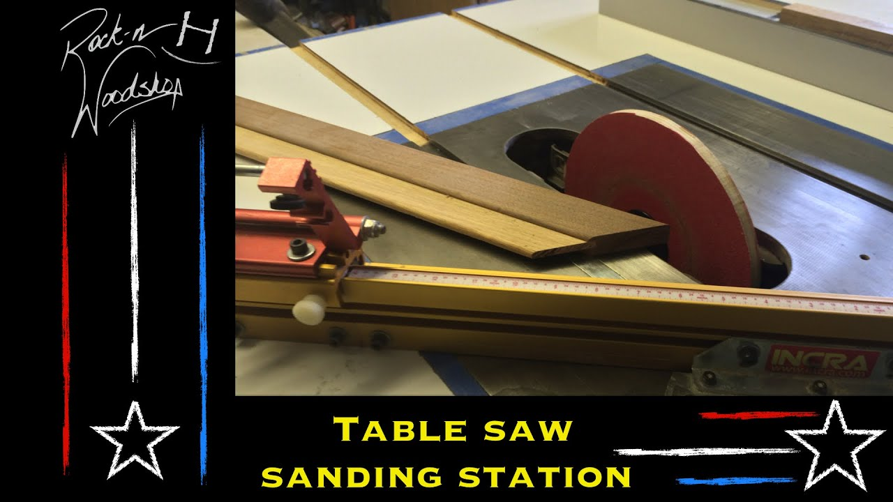 Tablesaw Sanding Station