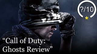 Call of Duty: Ghosts Review (Video Game Video Review)