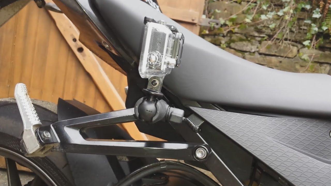 bmw s1000rr gopro hero motorrad halterung haltekugel m8