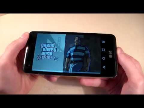 Games On LG X Style (GTA:SanAndreas, RealRacing3, DeadTrigger2)