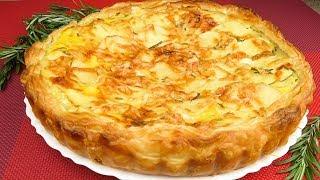 Легкий рецепт картофельного пирога | Easy recipe of potato pie