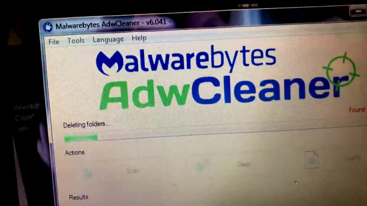 Running Malwarebytes AdwCleaner to remove Adaware, Hijackers, PUP's and  Unwanted Toolbars