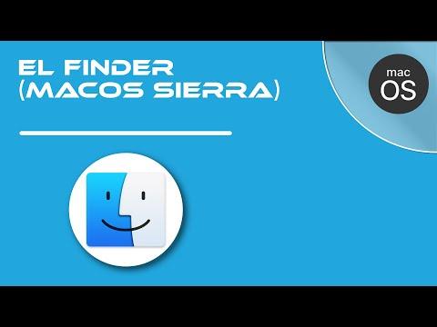 04- El Finder en Mac (macOS Sierra)