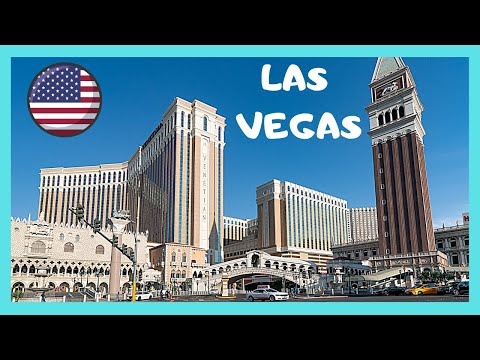 The Canal and the Gondolas of The Venetian Hotel and Casino, Las Vegas