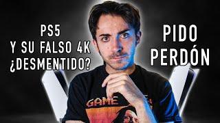 😅 PlayStation 5 y su 4K FALSO parece ser mentira? PIDO PERDÓN