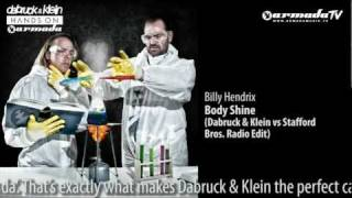 Hands On Armada Vol. 2 Preview: Billy Hendrix - Body Shine (Dabruck & Klein vs Stafford Bros)