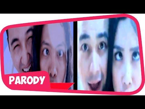 Raffi Ahmad dan Nagita Slavina PARODI klip pernikahan