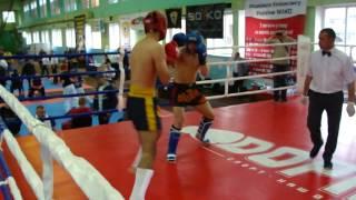 Меленівський Андрій-чемпіонат України серед студентів 2016. Kickboxing WAKO