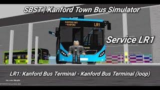Singapore Bus Services Transit (Roblox)| service LR1 | Kanford Bus Terminal (loop)|