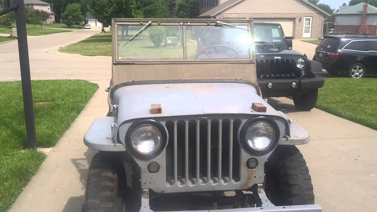 Jeep Willy's '46 CJ2a For Sale - YouTube