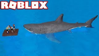 TROLLING A SHARK in ROBLOX SHARKBITE (BLOX4FUN SQUAD)