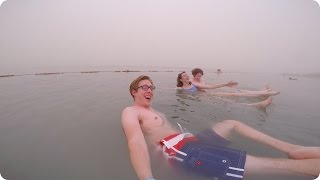 Floating on the Dead Sea and Jerusalem! | Evan Edinger Travel