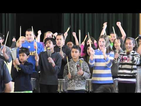 Drumming @ Schallenberger Elementary School (5th Graders)
