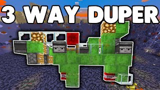 3 Directional TNT Duper | How To Build A 3 Directional Tnt Duping Machine | Minecraft 1.16.3