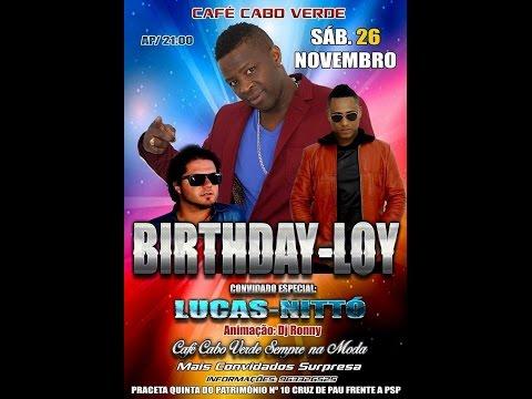 Lucas Black and White & Nittò (Live na Cafè Caboverde para aniversario de Loy Jtd)