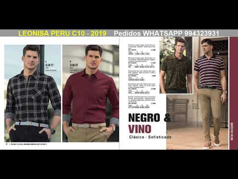 CATALOGO LEONISA Peru 10-2019 ¿Quieres COMPRAR? Pedidos WHATSAPP 994323931 Www.catalogosmujer.com