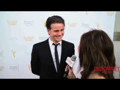 Jason Ritter #GravityFalls at 36th College Television Awards #CollegeTVAwards #EmmysFoundation