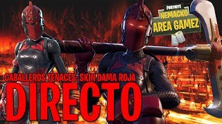 DIRECT #144 // COMPRO SKIN DAMA RED IN FORTNITE BATTLE ROYALE CHILE 2018 #2