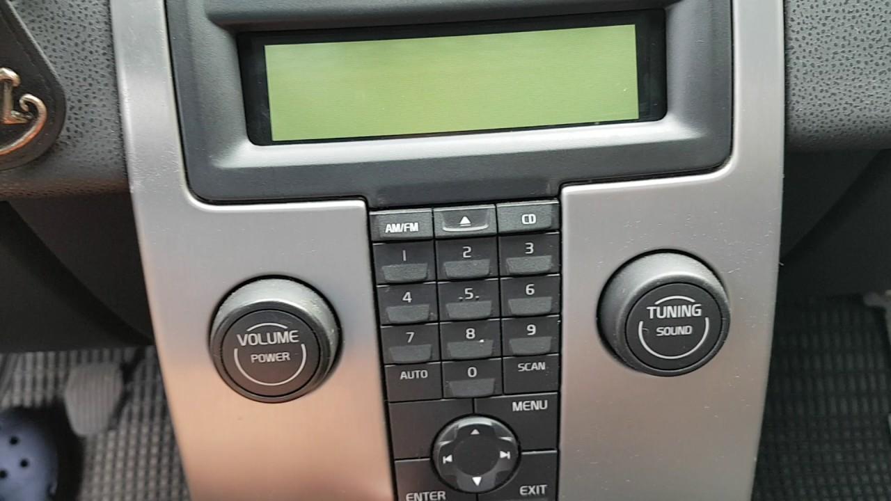 Volvo V50 Infotainment Problem