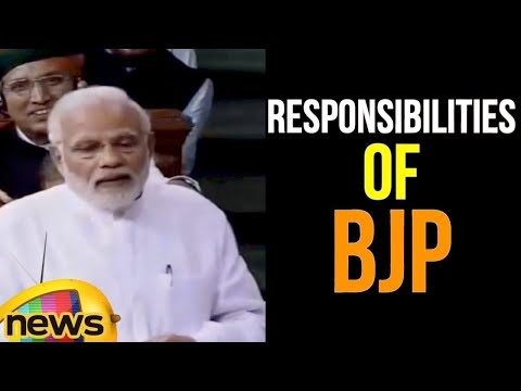 Modi Stops Anti Slogans Of Opposition With Sayings, We Are Responsible For People Not For Thiefs