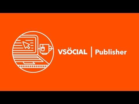 VSocial Publisher: Introduction - November 2014