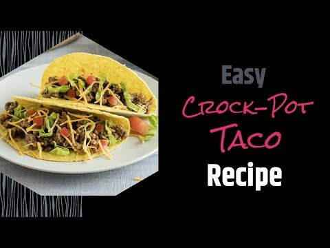 Crock-Pot Ground Beef Taco Recipe | Jessica B