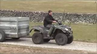 Easy Sheep Feed Trailer