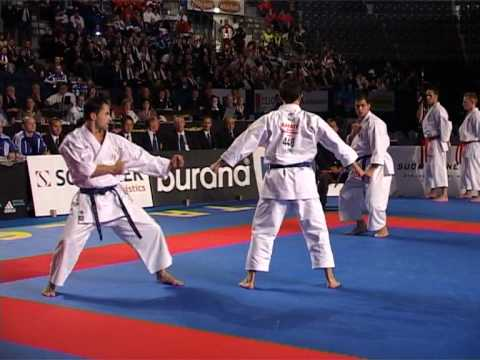 Kata GANKAKU + Bunkai by Italian World Champion Team