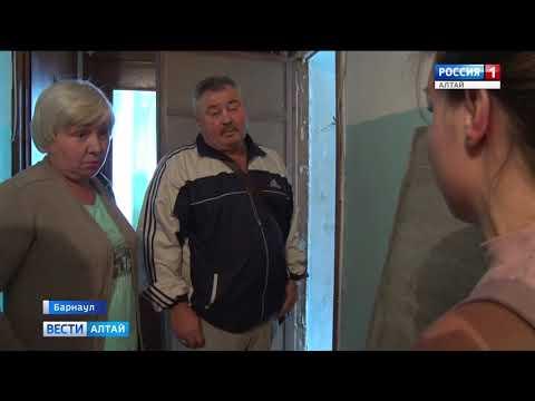 В Барнауле строители так отремонтировали одну квартиру, что разрушили другую