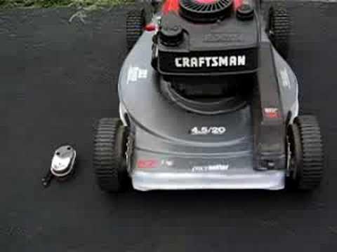 Get The Craftsman Eager 1 Mower Running No Muffler Part 2