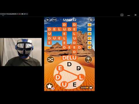 WORDSCAPES ARID, SAND 12 ANSWERS