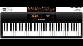 My Heart Will Go On (Titanic) By Celine Dion - On Virtual Piano