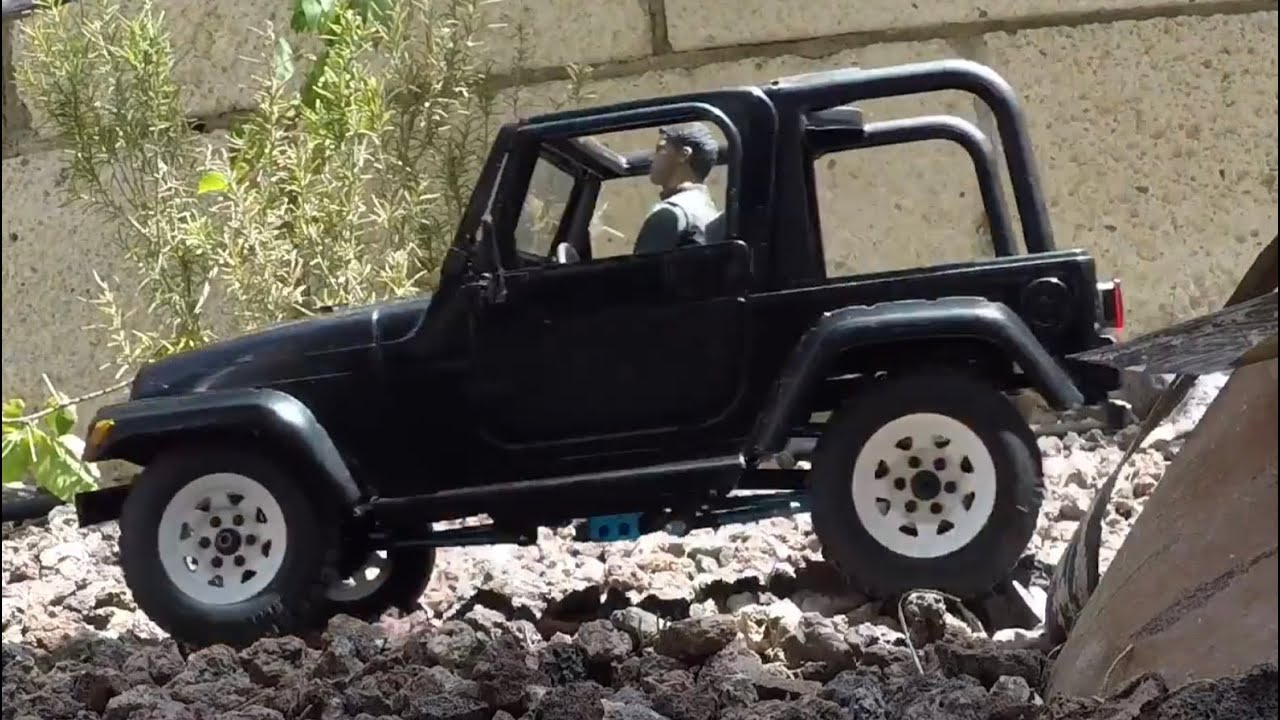 1 10 new bright rc jeep wrangler upgrade part 1 youtube. Black Bedroom Furniture Sets. Home Design Ideas