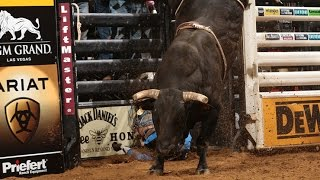 WRECK: J.W. Harris knocked out by Long John (PBR)