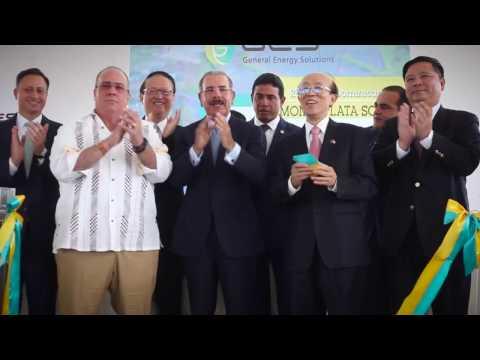 GES  Inauguración Planta Fotovoltáica Monte Plata Solar HD