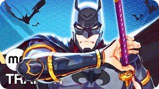 Batman Ninja Trailer German Deutsch (2018)