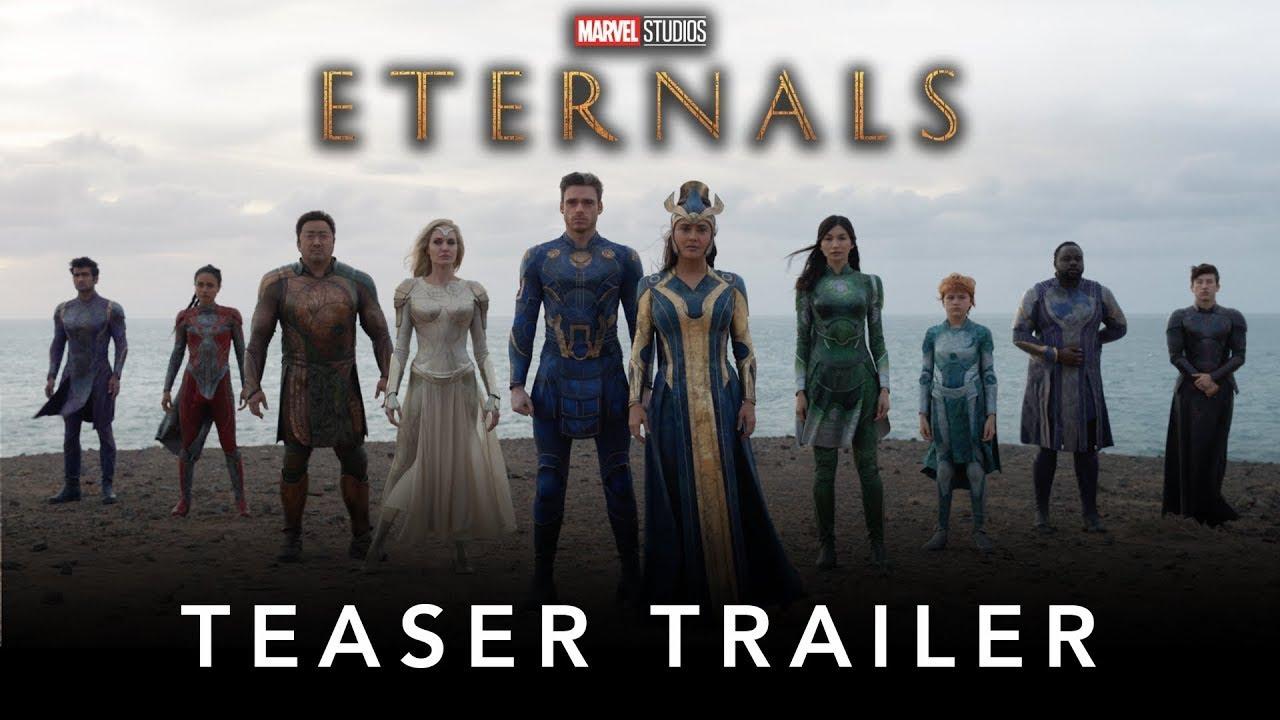 ETERNALS Trailer NEW (2021) Angelina Jolie, Kit Harrington ...