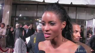 "Ciara talks ""Basic Instinct"" and acting at DAAF premier"