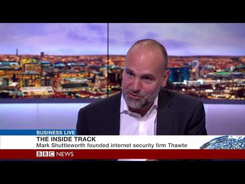 Mark Shuttleworth on BBC -  About Ubuntu and Space Station