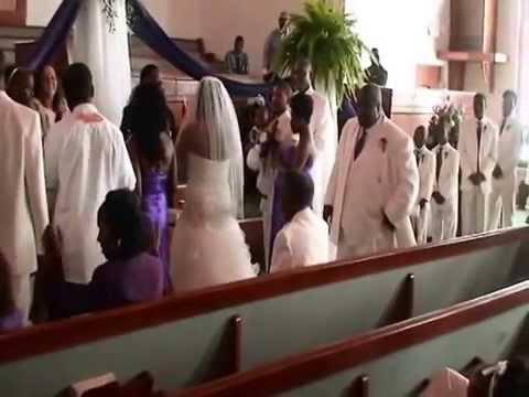 MIRACLE WEDDING PASTOR AND LADY J'S