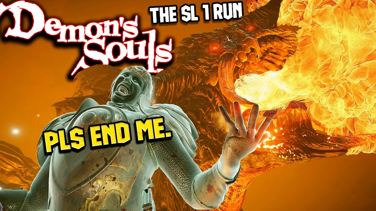Should This Count As The First RAGE QUIT On The Demon's Souls Remake SL1 Run?!?