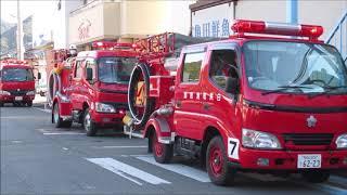 平成31年白浜町消防出初式☆車両パレード