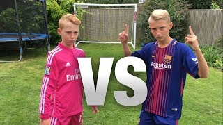 Messi VS Ronaldo FOOTBALL CHALLENGES WITH A FORFEIT