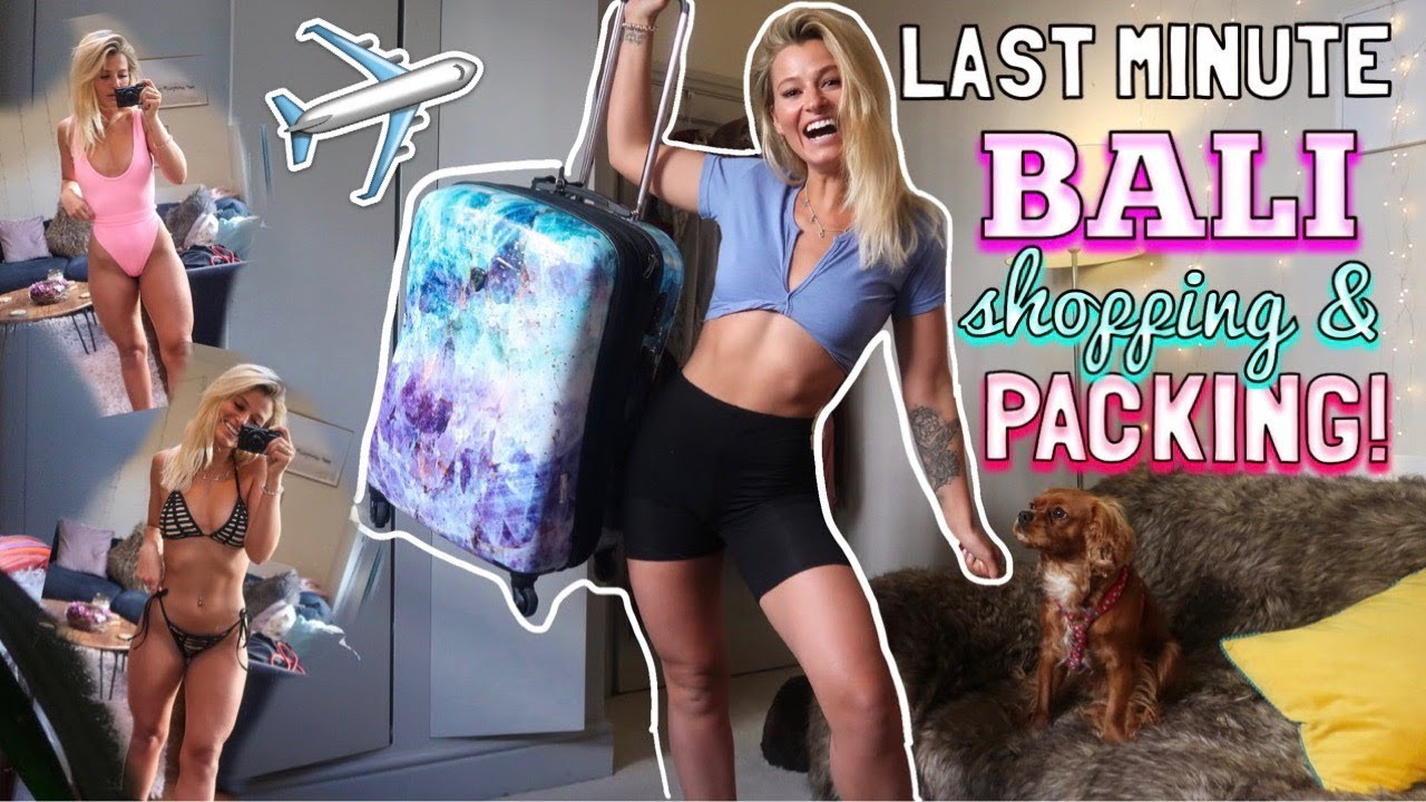 LAST MINUTE BALI SHOPPING! SPEND TWO DAYS WITH ME!