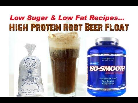 High Protein ROOT BEER Float Recipe!