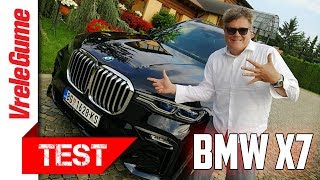 BUMBARSKI TEST: BMW X7 30d - vidi vozim bez ruku, vidi vozim bez nogu