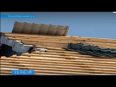 ТРК ВіККА: Через запізнілий старт ремонту школи на Чорнобаївщині залило класи