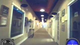AR Drone and the long hallway
